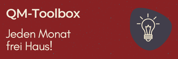 QM-Toolbox - jeden Monat frei Haus