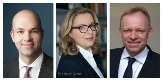 Marcel Fratzscher, Claudia Kemfert und Clemens Fuest
