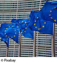 Europa-Fahnen