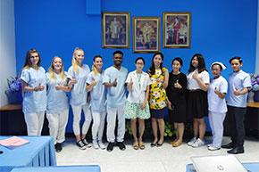 Gruppe Pflegender Thailand