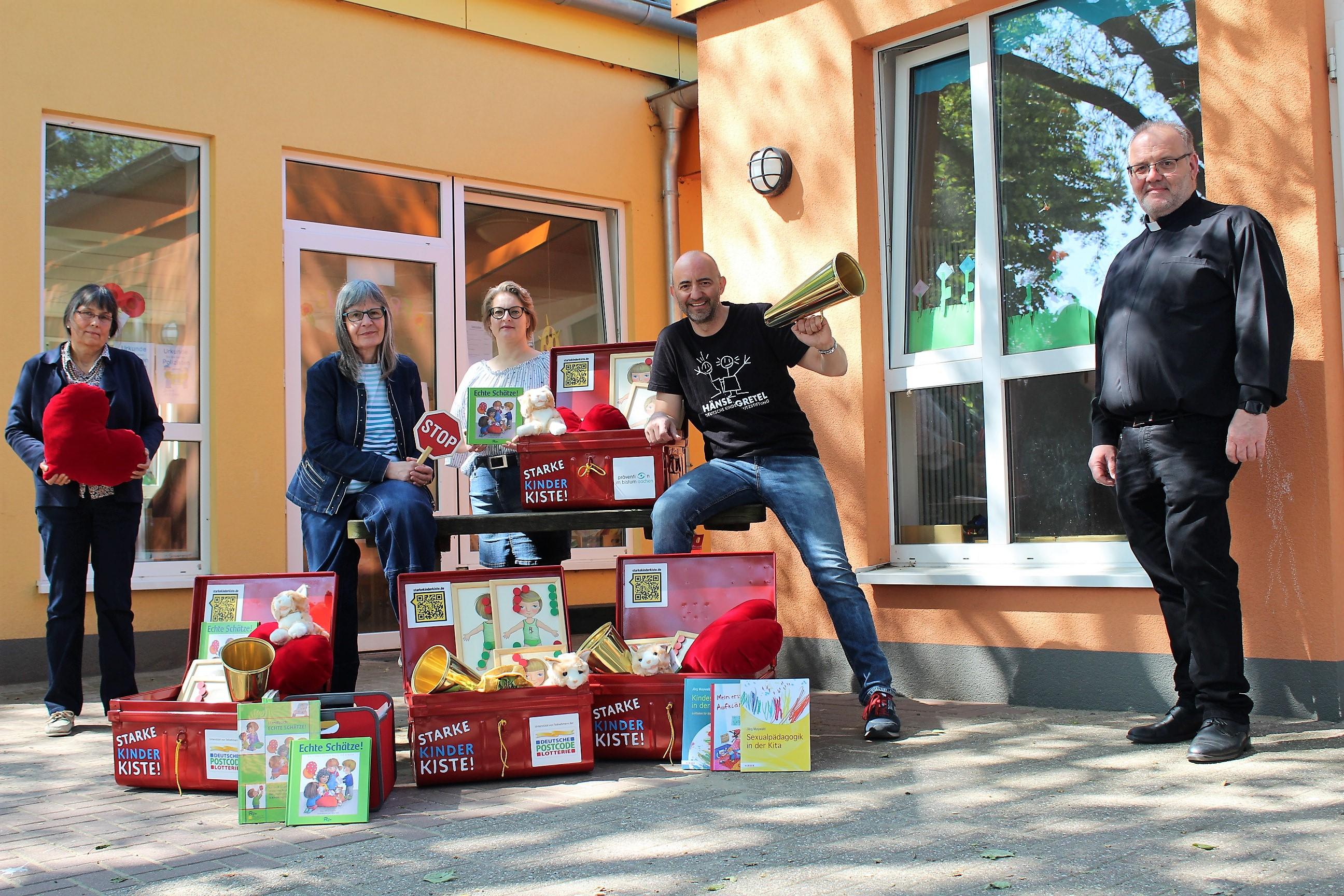 """""""Starke Kinder Kiste!"""" im Bistum Aachen"""