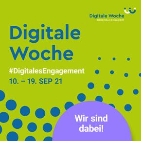 Digitale Woche 2021   Mit Bildung zum Gemeinwohl ist dabei!