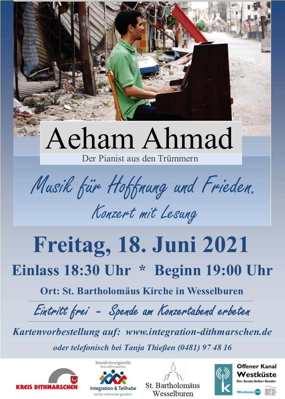 Konzert Aeham Ahmad