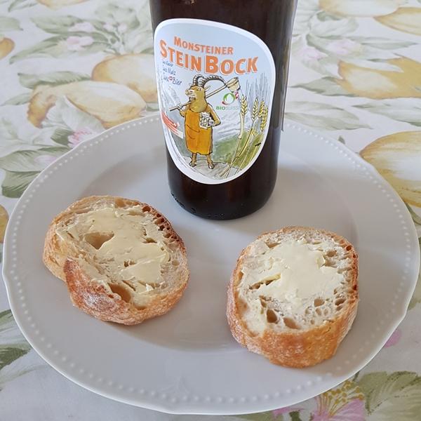 Brote mit Butter