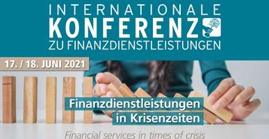 Internationale Konferenz zu Finanzdienstleistungen