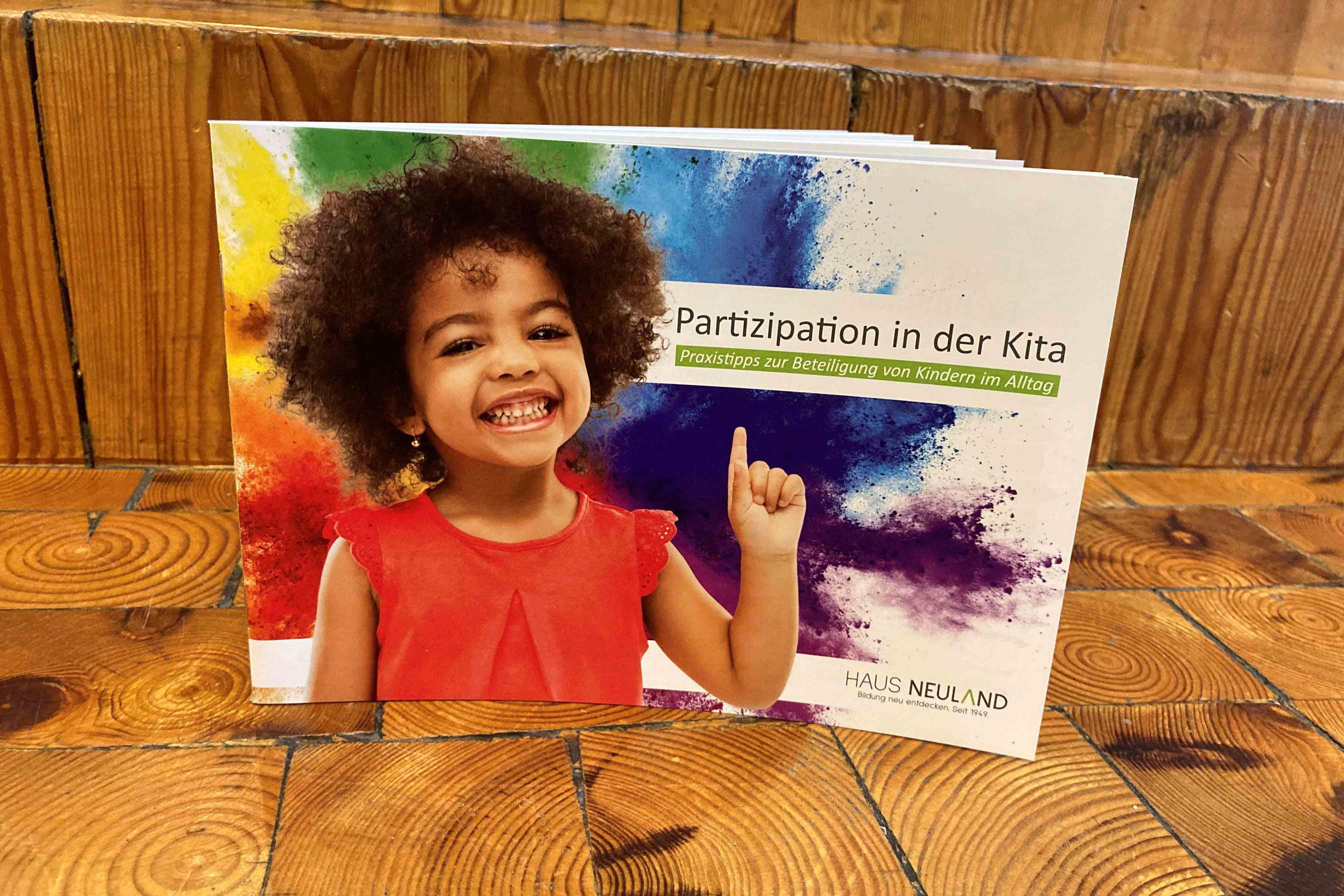 Broschüre zum Projekt Parti
