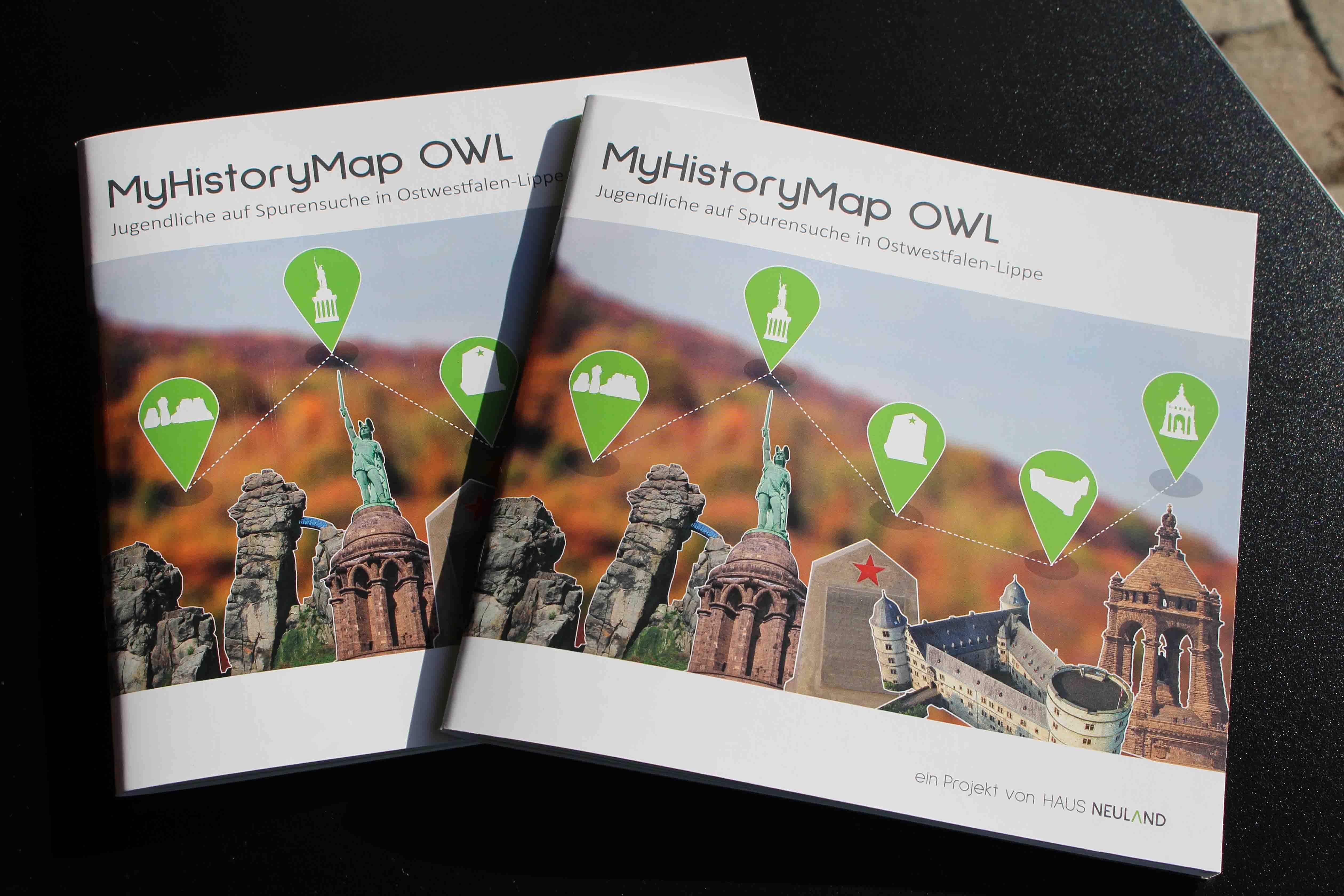 Broschüre MyHistoryMap OWL