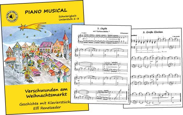 Verschwunden am Weihnachtsmarkt - PIANO MUSICAL