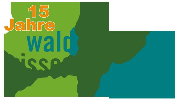 Logo 15 Jahre waldwissen.net