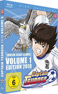 Captain Tsubasa 2018 – Box 3 – Junior High School Vol. 1 – Blu-ray