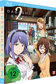 Dagashi Kashi – 2. Staffel – Blu-ray Gesamtausgabe