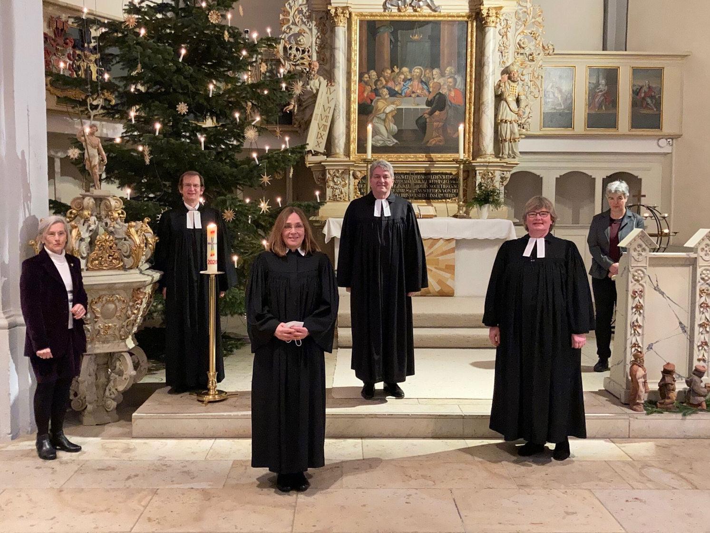 Einführung Pastorin Julius in St. Petri Melle