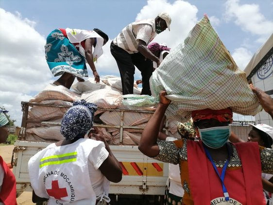 Mozambique Red Cross in Action