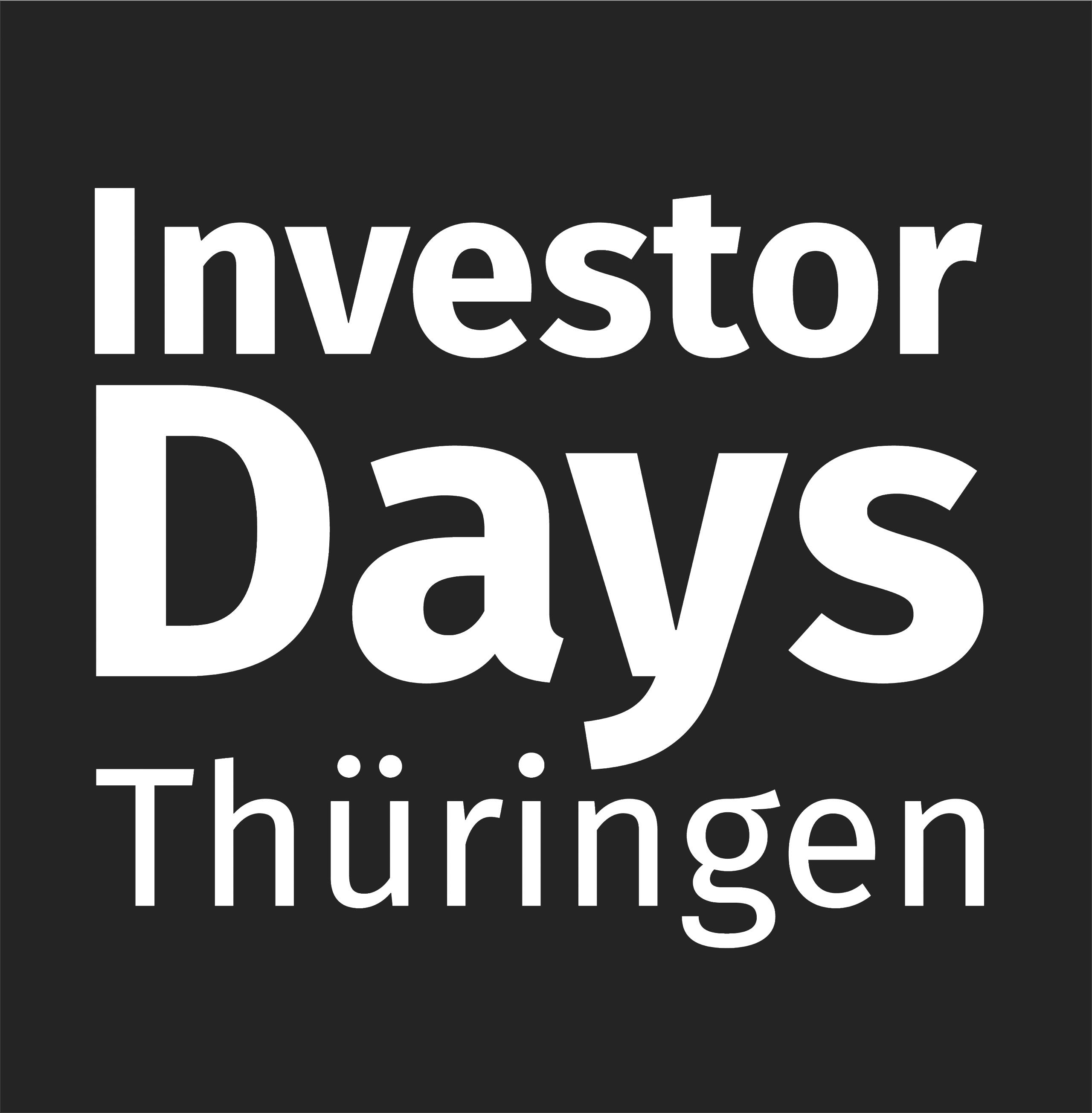 Investor Days Thüringen