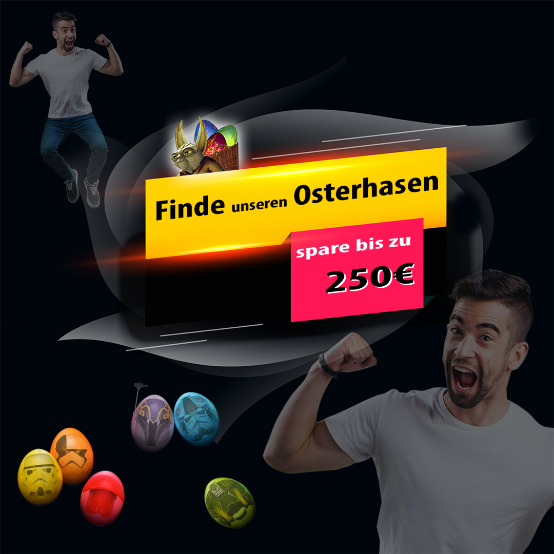 Oster-Promotion - Finde den Yoda Oster Hasen