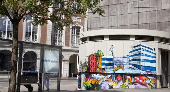 Der Bushof wird künstlerisch aufgewertet_Stadt Aachen Fotostudio Jünger