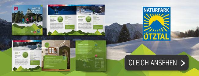 Winterwanderprogramm Naturpark Oetztal