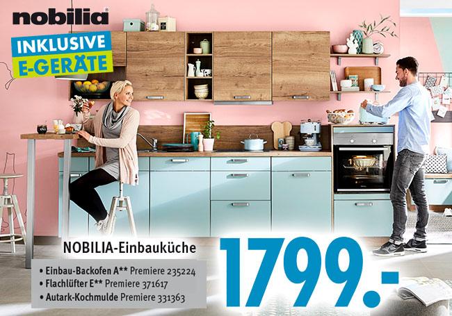 NOBILIA Marken-Einbauküche