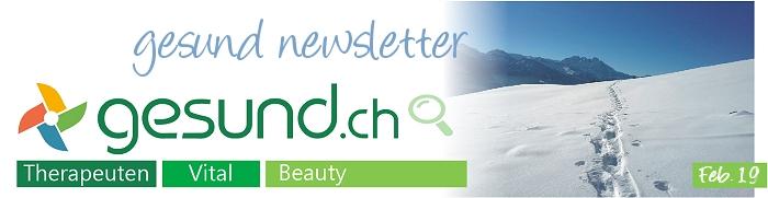 gesund newsletter Feb. 2019