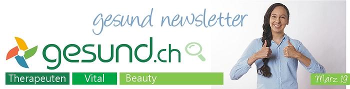 gesund newsletter März 2019