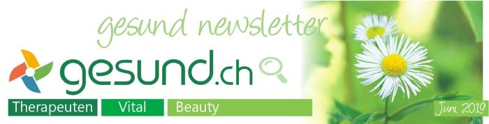 gesund newsletter Juni 2019