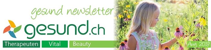 gesund newsletter August 2019