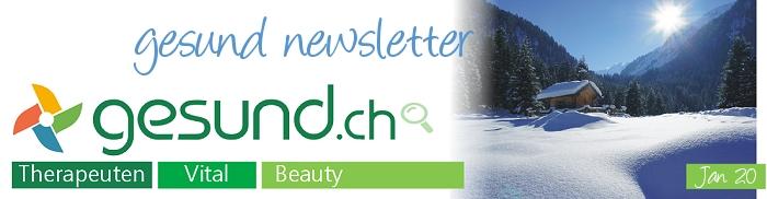 gesund newsletter Januar 2020