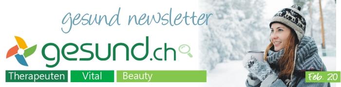 gesund newsletter Februar 2020