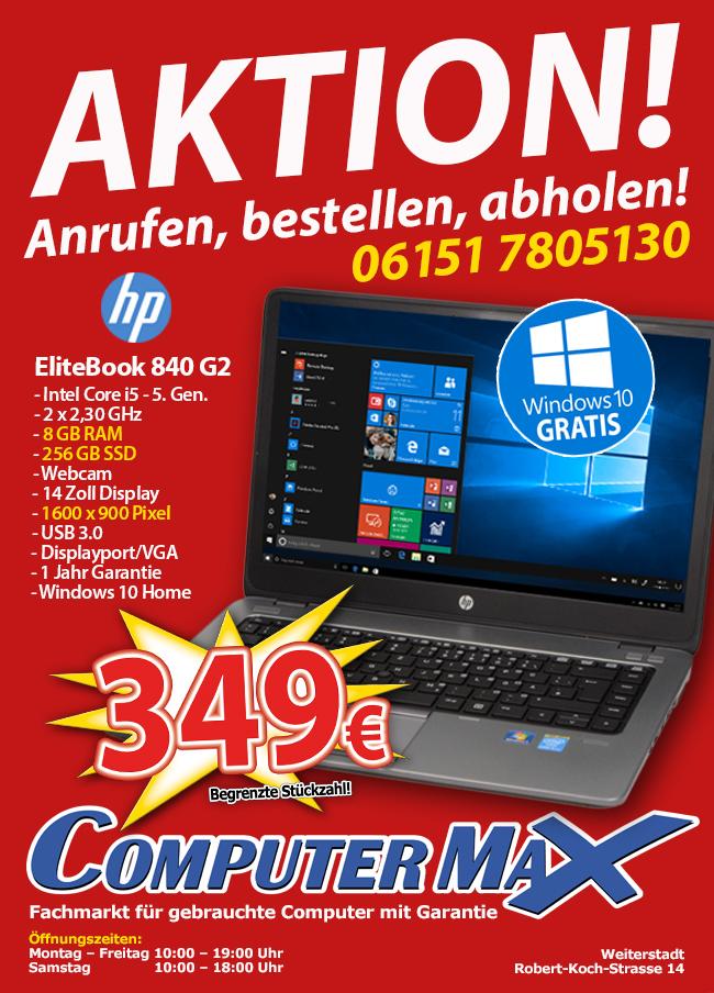 HP Notebook zum Aktionspreis!