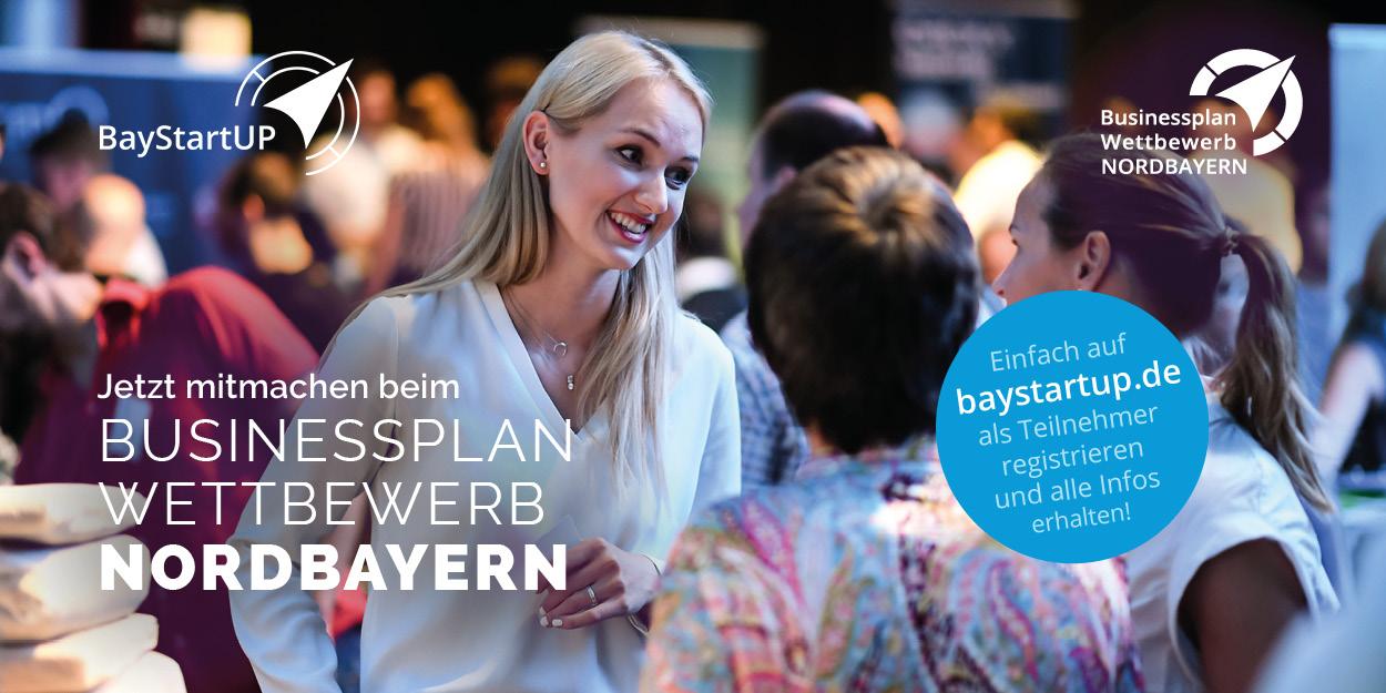 Businessplan Wettbewerb Nordbayern 2020