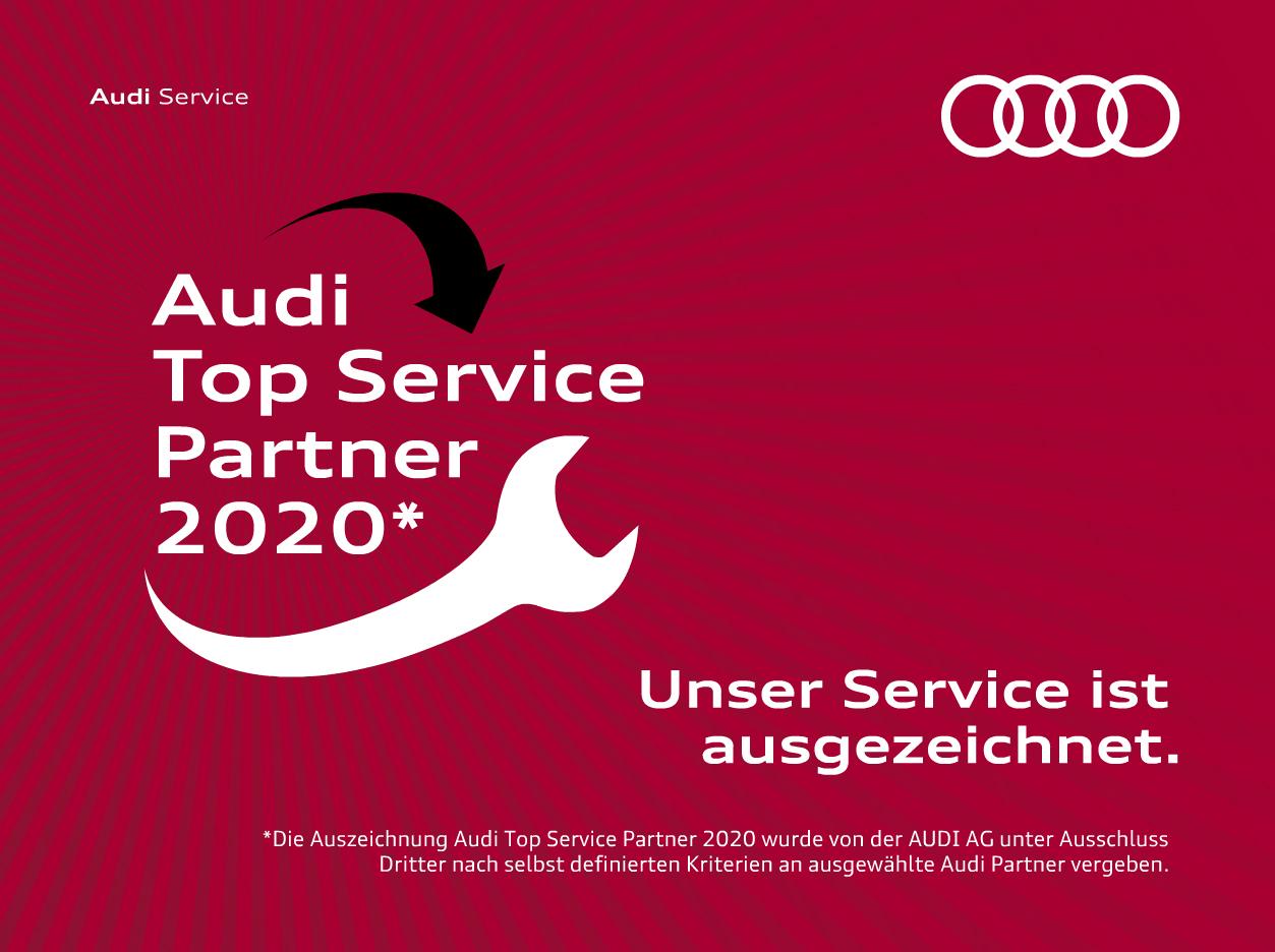 Audi Top Service Partner 2020