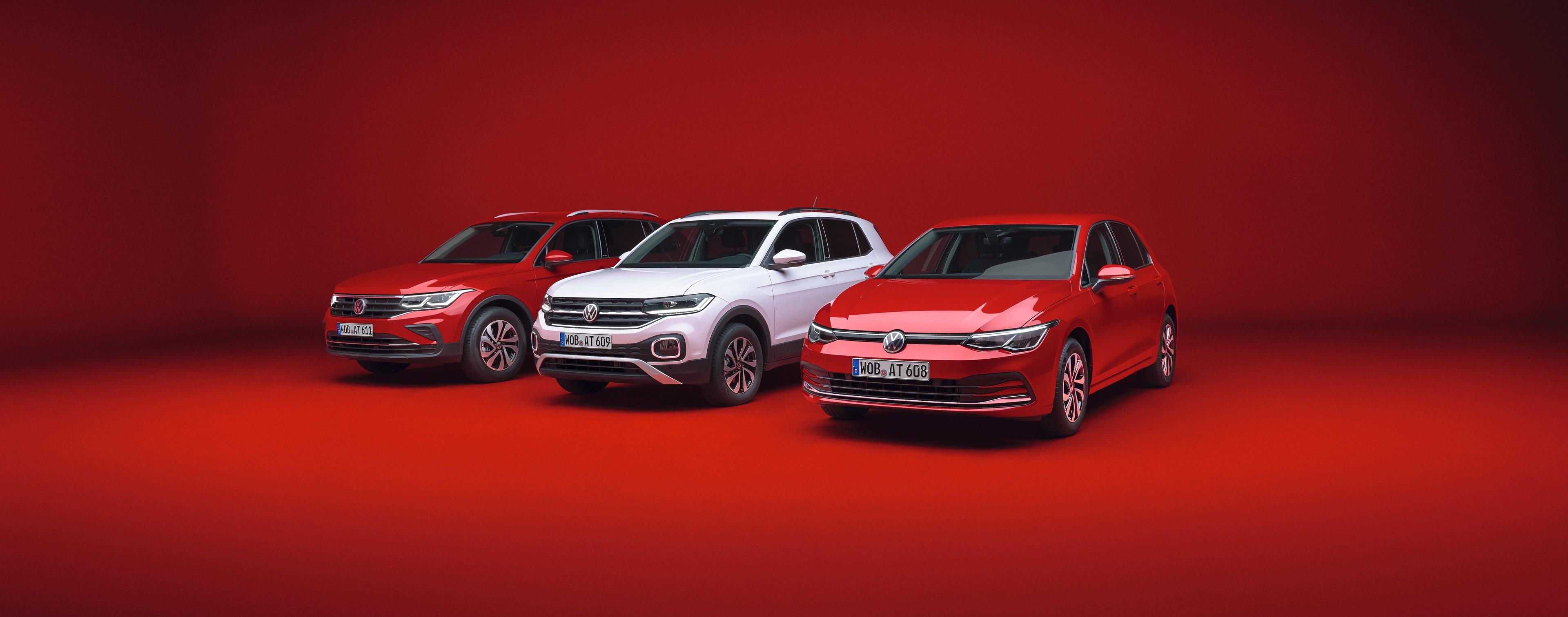 VW ACTIVE Sondermodelle inkl. #gönnteuchwas-Paket