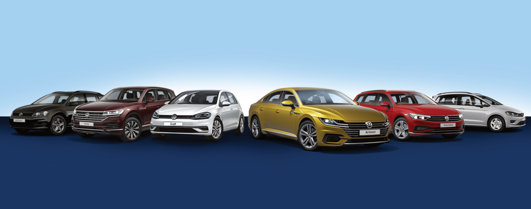 Top-Leasing und 0,99%-Finanzierung für VW Jahreswagen