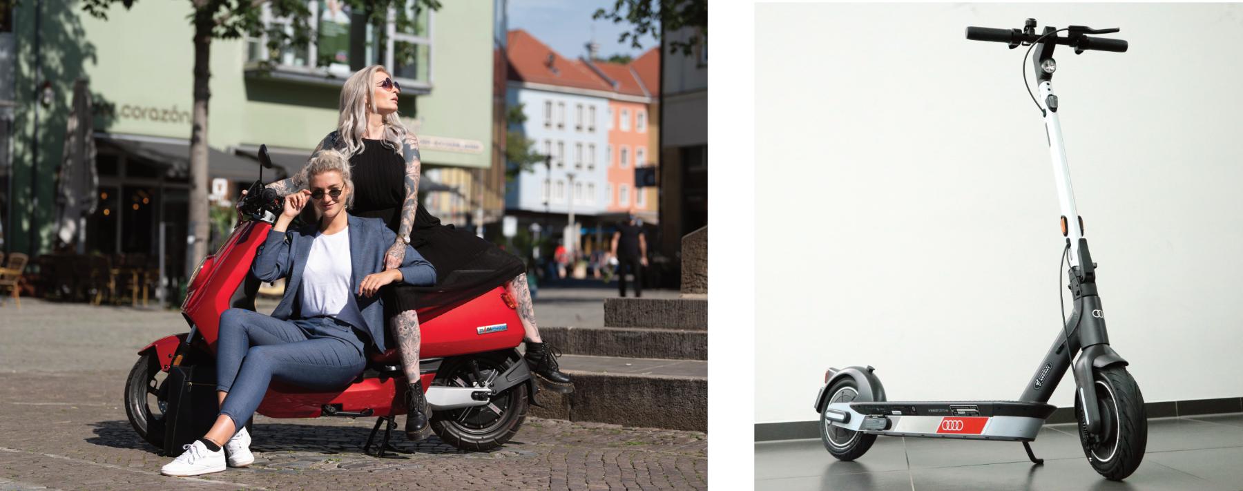 Emissionsfrei und günstig unterwegs mit dem E-Roller