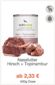 Nassfutter Hirsch