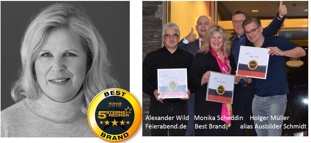 Scheddin gewinnt Best Brand Award 2018