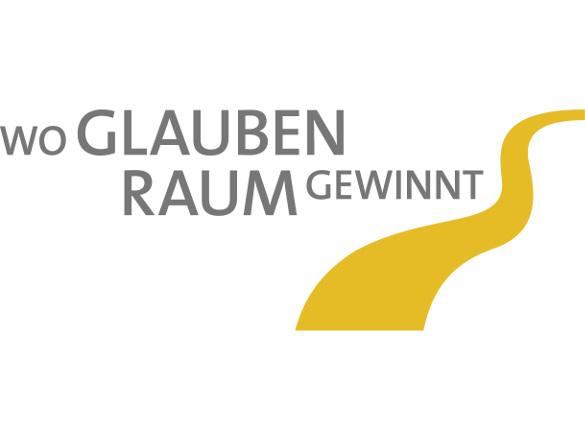 """Logo """"Wo Glauben Raum gewinnt"""""""