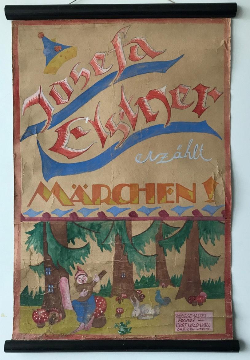 Plakat Josefa Elstner-Oertel