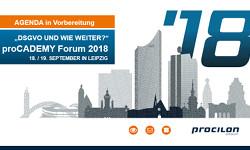 teaser procademy forum agenda