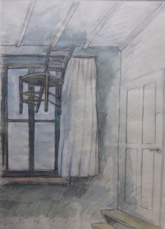 Ilse Weber, Der Stuhl zieht um, 1974