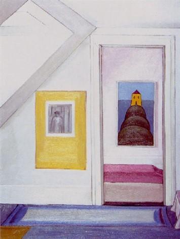 Irma Ineichen, «Durchgang zur Wasserburg», 1976