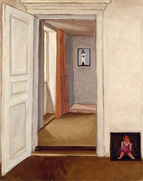 """Irma Ineichen, """"Ins andere Zimmer"""", 1972"""