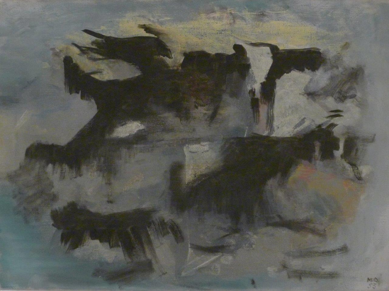 Meret Oppenheim, Nuages, 1953, Kunsthaus Zug