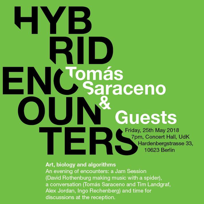 Hybrid Encounters with Tómas Saraceno