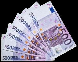 500 Euro nur für Dich