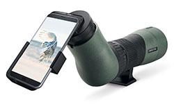 Swarovski-Spektiv mit Smartphone