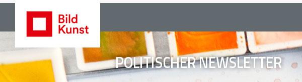 Politischer Newsletter Bild-Kunst