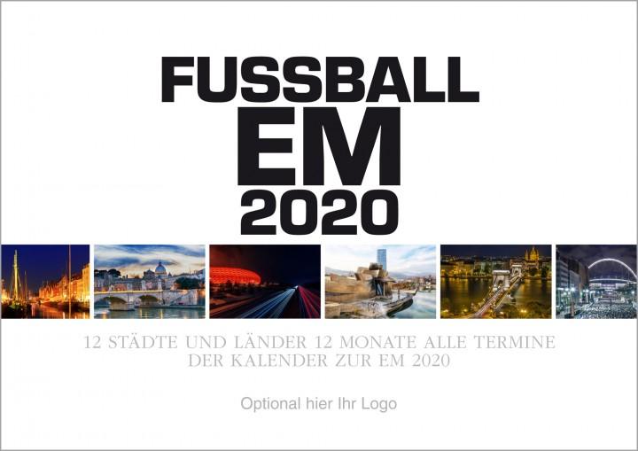 Fussball EM 2020 Wandkalender