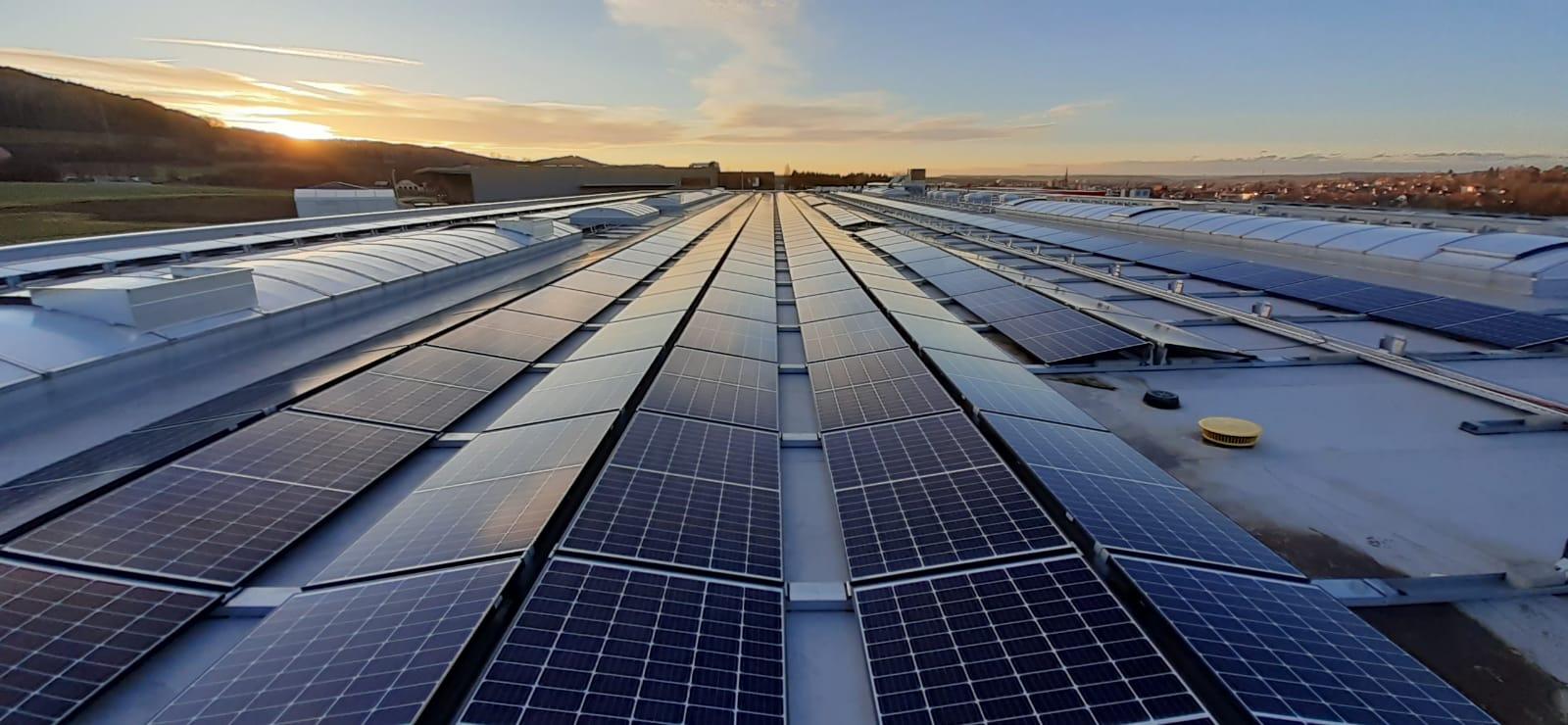 468 kW PV-Dachanlage in Spaichingen