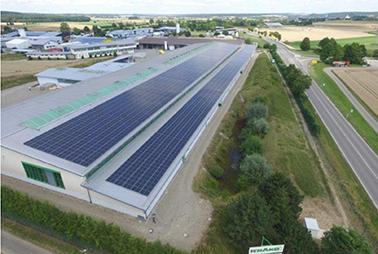 PV-Anlage der Firma Schako in Meßkirch